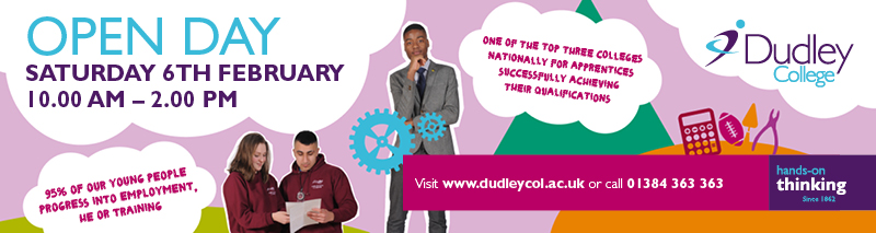 Dudley College Open Day 6th February 2016