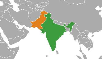 India_Pakistan_Locator