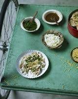 green table food
