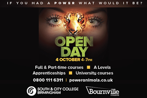 south & city open day oct