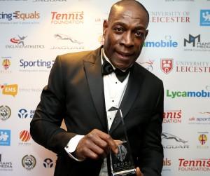 'Sporting Equals Lifetime Achievement Award' winner Frank Bruno MBE