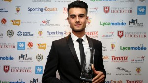 Aston Villa's Easah Suliman wins Youth Sport Trust Young Sports Person of the Year'