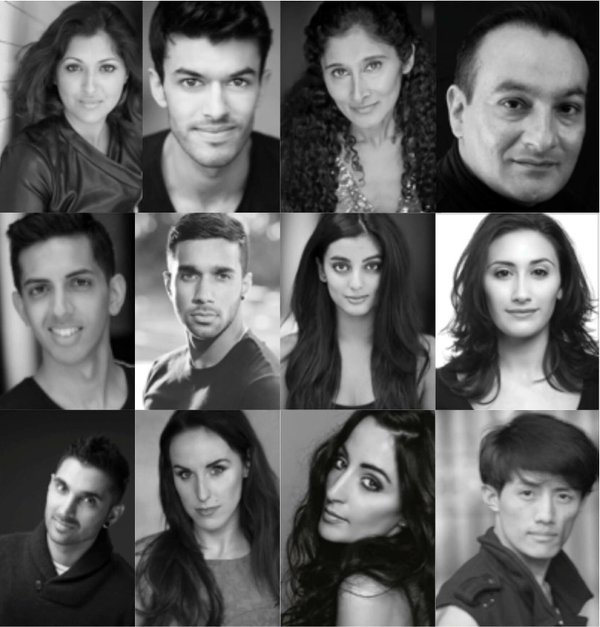 The Cast of Bring in the Bollywood