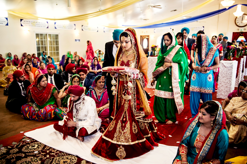 Indian Wedding Gift Traditions: A Look At A Sikh Wedding Ceremony
