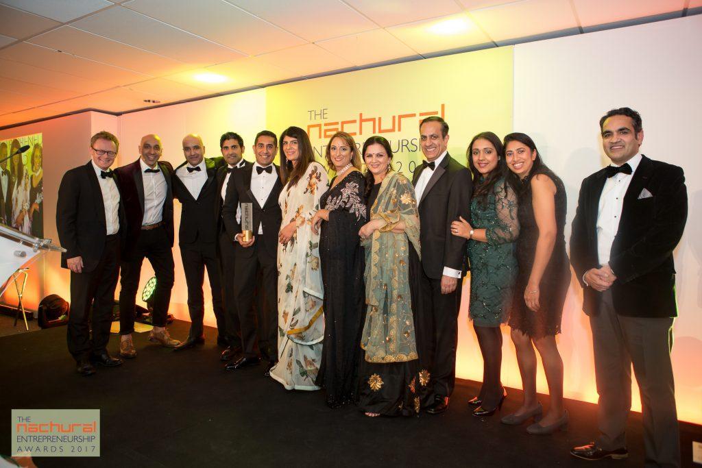 East Amp West Meet At The Nachural Entrepreneurship Awards