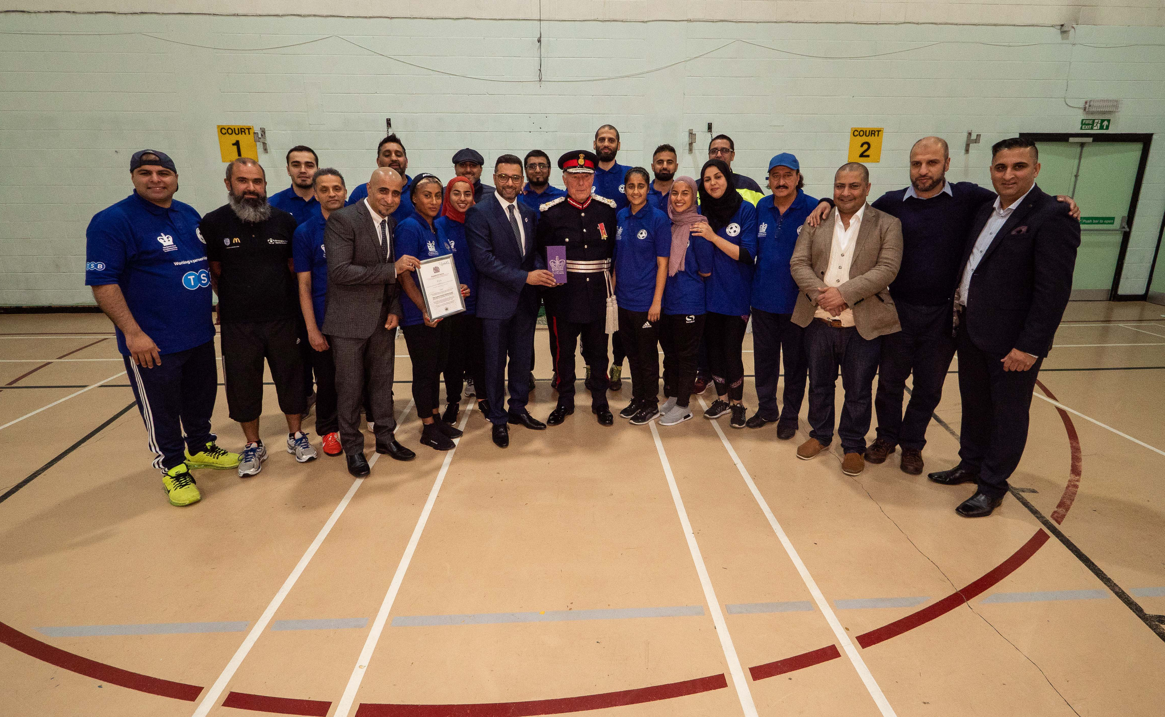 BYSA Organisation celebrated with prestigious Queens Award ...