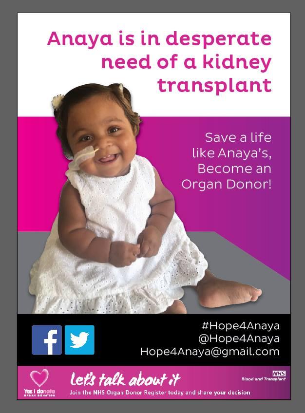 SaveAnaya #Hope4Anaya - Latest, National, News, Top Stories