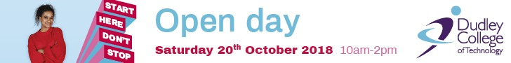 Dudley Sixth Form Open Day