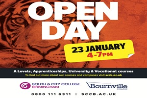 South and City College Birmingham Open Day